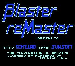 Blaster ReMaster